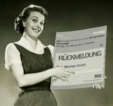 Einladungsmanagement einflussreichste Frauen Deutschlands